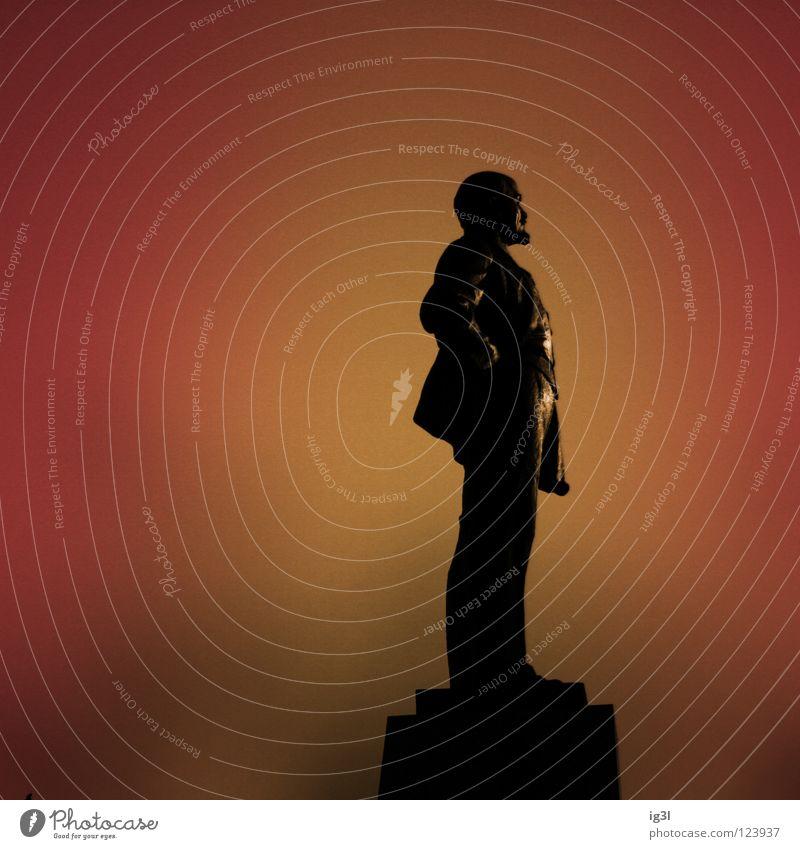 Lenins Stolz rot Arbeit & Erwerbstätigkeit dreckig glänzend Europa Sicherheit Asien Statue Denkmal Reihe Symbole & Metaphern Russland Wahrzeichen Image Stolz Sibirien