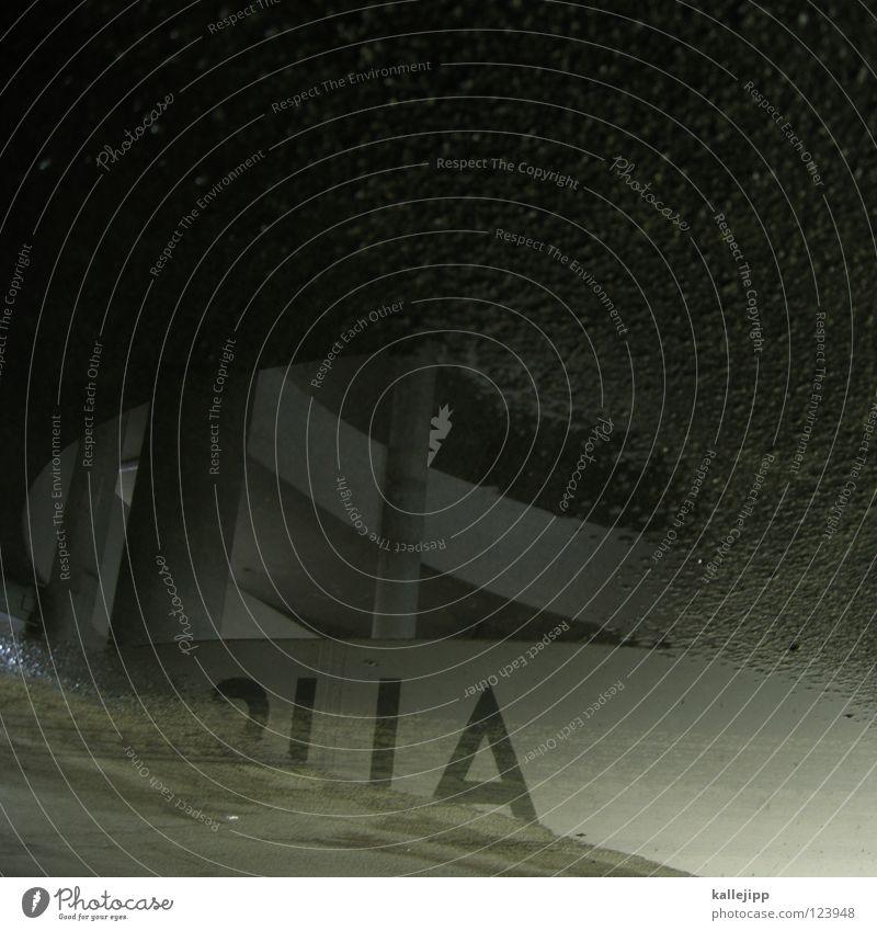 SUA Pfütze Typographie Parkhaus Schneckenhaus Einfahrt Spirale Etage Haus Lichthof Beton tief Sog Wasserwirbel Unendlichkeit Schwarze Löcher Galaxie Tornado