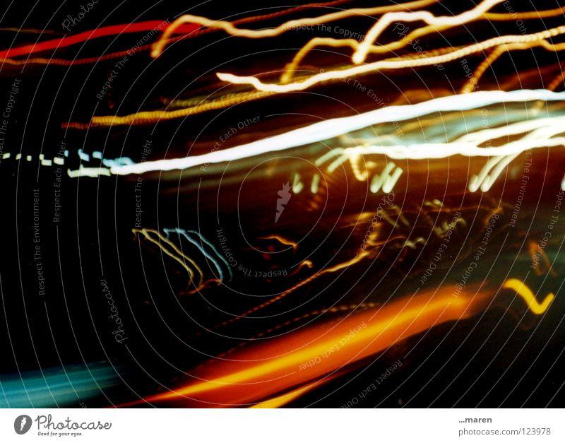 lomoparty 1 Licht Momentaufnahme Fotografieren durcheinander glänzend laut Lomografie Sportveranstaltung Flackern Lampe Abend Nacht dunkel Club Nähgarn Wildtier