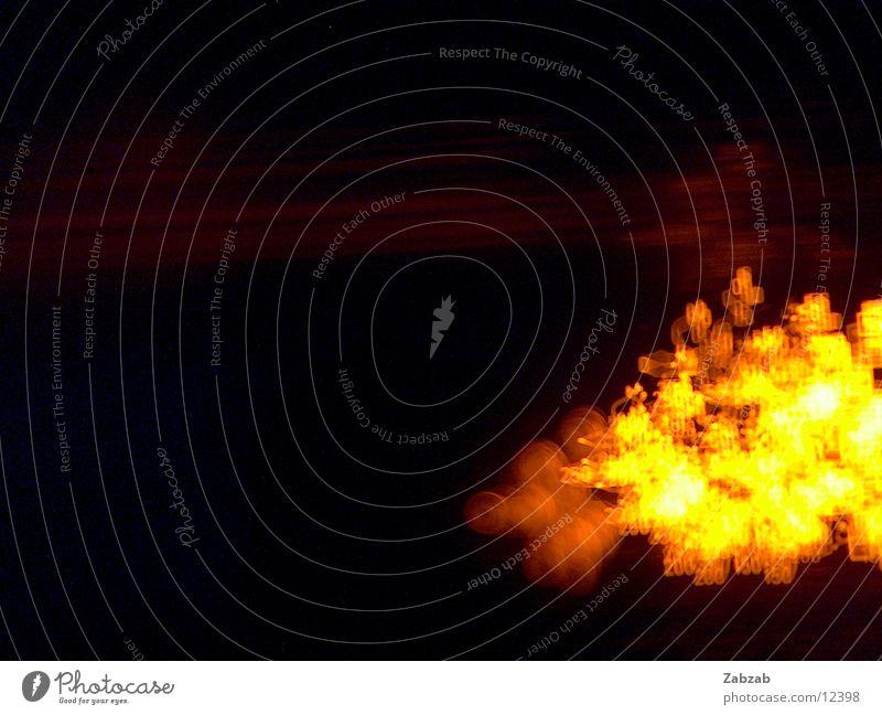 backofenromantik Ziffern & Zahlen Langzeitbelichtung gelb dunkel schwarz Elektrisches Gerät Lampe Grad Celsius Physik Knöpfe Schalter Verschiebung chaotisch
