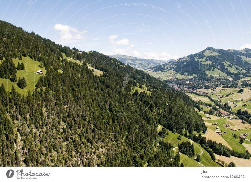 Wispile - Staldenhorn - Grund XV Himmel Natur Sommer Erholung Landschaft ruhig Ferne Wald Berge u. Gebirge Sport Glück Freiheit fliegen Zufriedenheit Luft