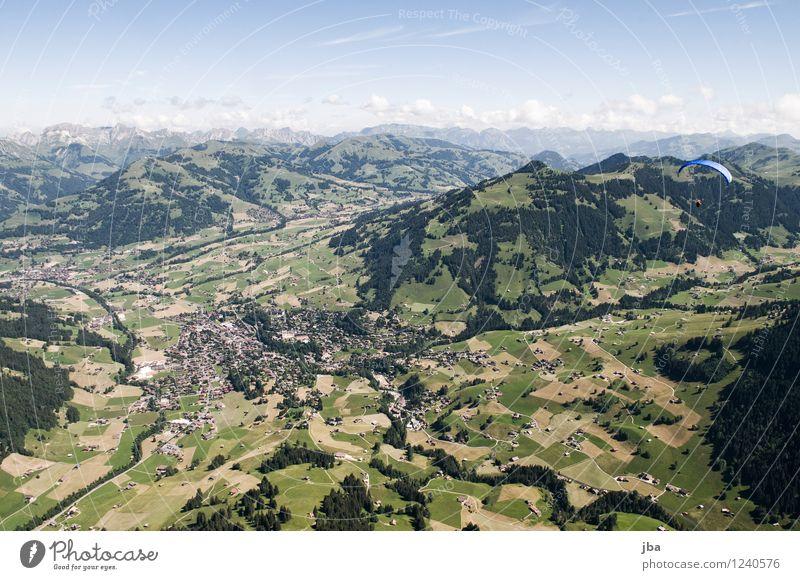 Wispile - Staldenhorn - Grund III Himmel Natur Sommer Erholung Landschaft ruhig Ferne Berge u. Gebirge Sport Freiheit fliegen Zufriedenheit Luft Luftverkehr