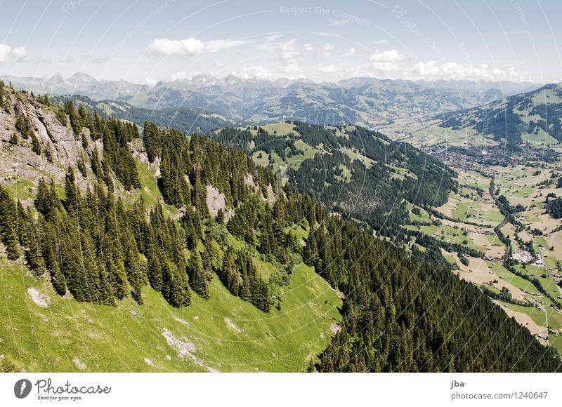 Wispile - Staldenhorn - Grund XII Himmel Natur Sommer Erholung ruhig Ferne Wald Berge u. Gebirge Sport Freiheit fliegen Felsen Zufriedenheit Luft Luftverkehr