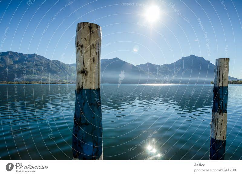 Himmel Natur Ferien & Urlaub & Reisen blau schön Sommer Wasser Sonne Landschaft Winter Frühling Herbst natürlich See Tourismus Nebel