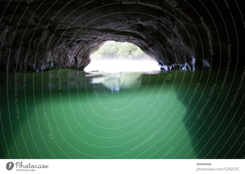 Unterwasserhöhle Erholung ruhig Freizeit & Hobby Ferien & Urlaub & Reisen Tourismus Abenteuer Sommer Natur Landschaft Wasser Felsen Schlucht Wellen Küste Riff