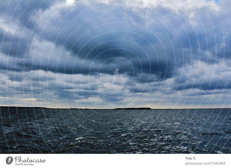 die Insel Himmel Natur Sommer Wasser Meer Wolken Umwelt Küste Insel Abenteuer Ostsee Gewitter Gewitterwolken