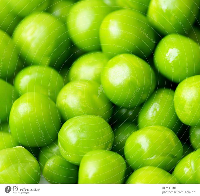 ja Erbsen! grün Farbe Gesunde Ernährung Gesundheit Metall Design Ernährung Sauberkeit Kochen & Garen & Backen rund Küche Gemüse Gastronomie Kugel Bioprodukte Langeweile