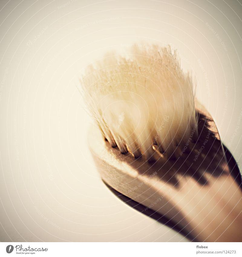 Vintage Brush schön Erholung Holz Haare & Frisuren Reinigen Sauberkeit Bad Wellness Massage Haushalt Bürste Borsten Zahnbürste