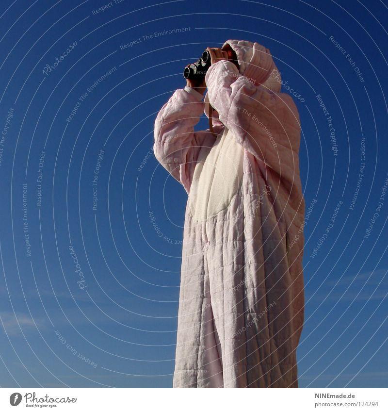 HasenMission | 2008 - spion Mensch Himmel Natur blau schön Freude Wolken Einsamkeit Tier Wärme Linie lustig Wetter Arbeit & Erwerbstätigkeit warten rosa