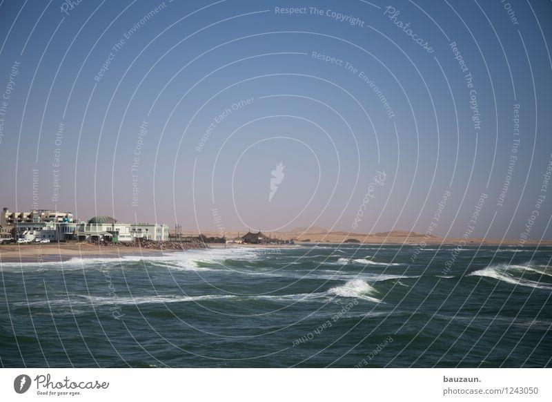 abkühlung. Himmel Ferien & Urlaub & Reisen schön Sommer Wasser Sonne Meer Landschaft Ferne Strand Küste Gesundheit Freiheit Schwimmen & Baden Sand Wetter