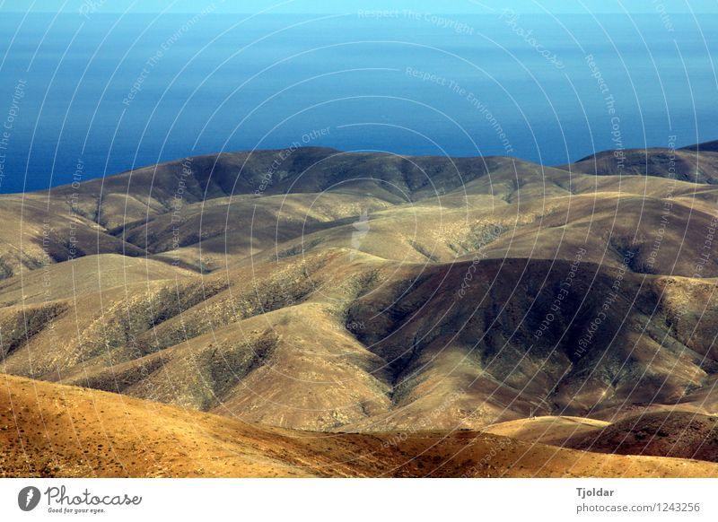 Horizonte Himmel Natur Ferien & Urlaub & Reisen Pflanze Sommer Sonne Meer Landschaft Ferne Berge u. Gebirge Freiheit Felsen Horizont Tourismus Erde Ausflug