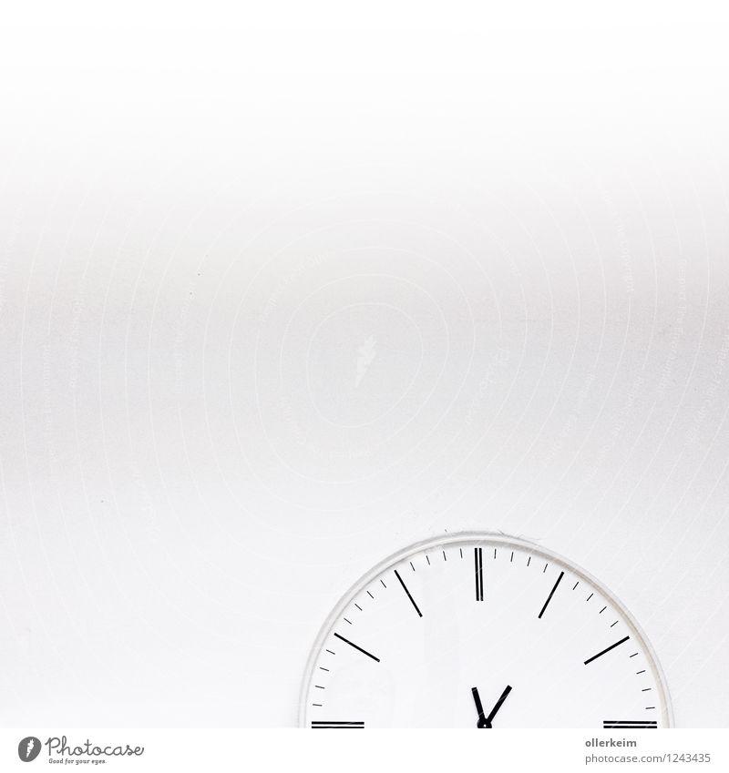 HalbZeit weiß Innenarchitektur Business Wohnung Büro Dekoration & Verzierung Uhr warten Küche Bad Fabrik zeigen Sitzung Wohnzimmer drehen silber