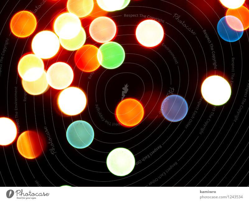 schön Farbe Auge Feste & Feiern außergewöhnlich Kunst hell glänzend Design Dekoration & Verzierung Kreis erleuchten Entwurf Luftblase glühen Konsistenz