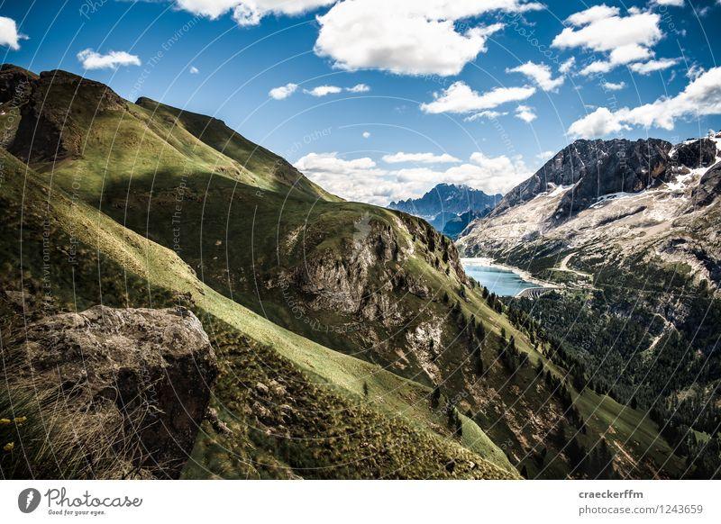 Dolomiten III Freizeit & Hobby wandern Ferien & Urlaub & Reisen Tourismus Ausflug Freiheit Sommer Sommerurlaub Berge u. Gebirge Klettern Bergsteigen Natur