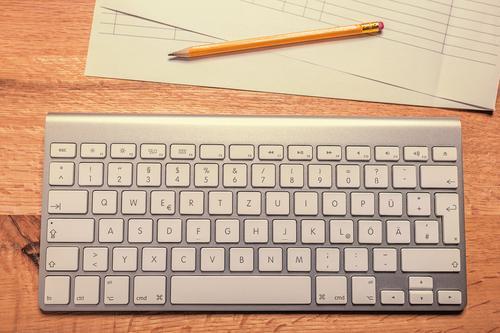 Schreibtisch sprechen Schule Business Arbeit & Erwerbstätigkeit Büro Erfolg Computer Zukunft lernen Telekommunikation Studium retro Beruf Internet Sitzung