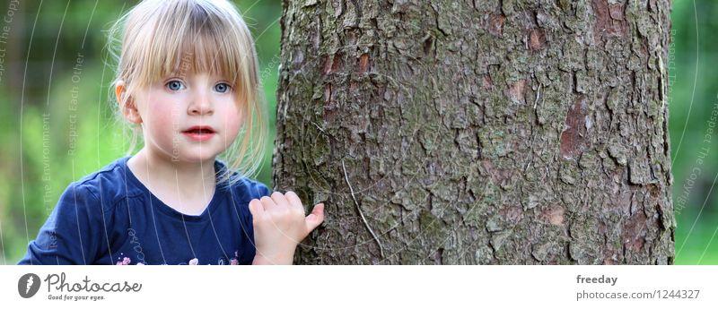 Naturschönheit Mensch Kind Natur Ferien & Urlaub & Reisen Sommer Baum Hand Mädchen Wald Gesicht Umwelt Auge Leben Frühling feminin Denken