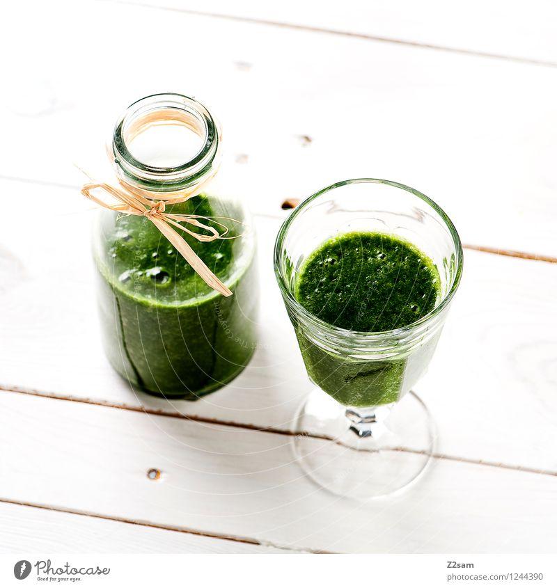 Lecker Smoothie Lebensmittel Gemüse Salat Salatbeilage Frucht Kräuter & Gewürze Ernährung Vegetarische Ernährung Diät Fasten Getränk Milchshake einfach frisch