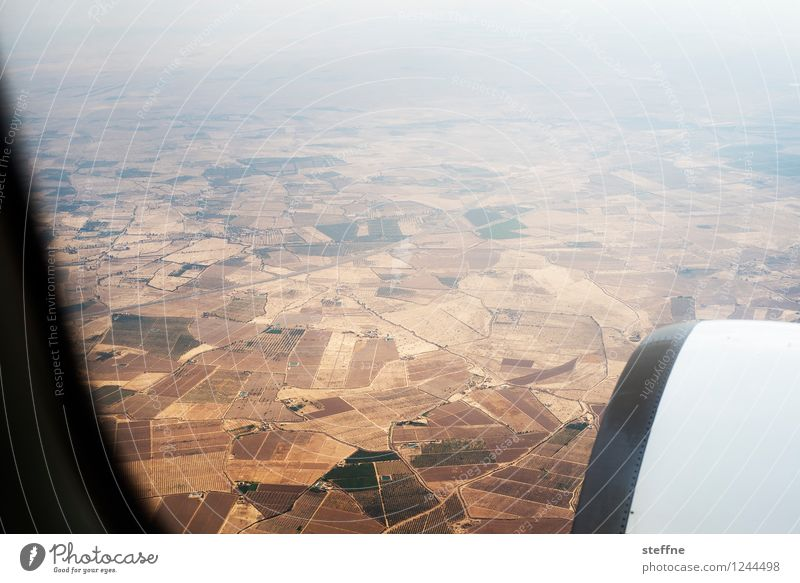 Arabian Dream XIII Marokko Orient Arabien arabisch Urlaub Tourismus Feld Flugzeug Vogelperspektive