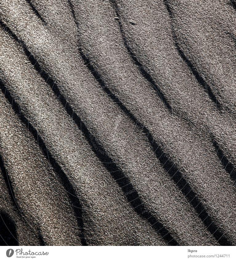 Spanien Textur Zusammenfassung von a Ferien & Urlaub & Reisen Tourismus Ausflug Sommer Strand Insel Natur Sand Felsen Küste Fluss Stein dreckig braun gelb