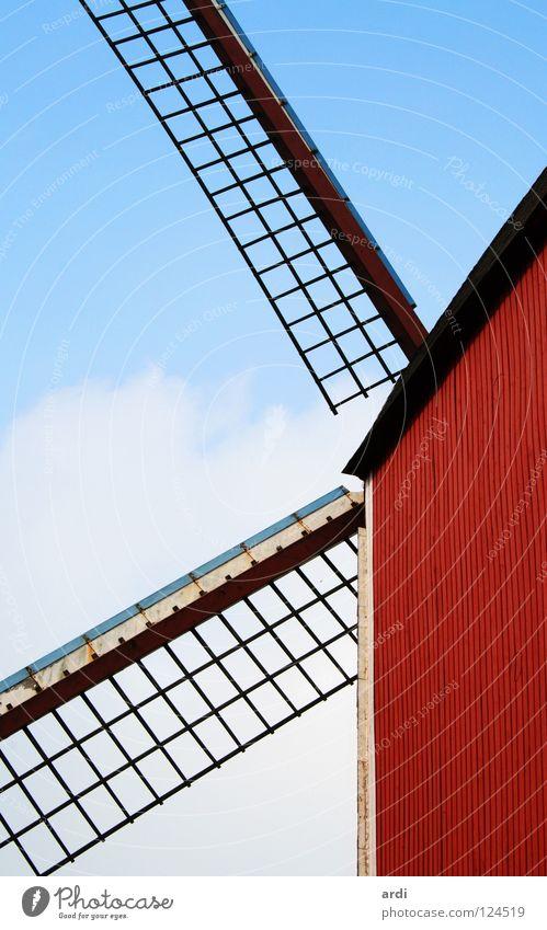 belgische Mühle Gebäude Architektur Wind drehen Belgien Windmühle Brügge