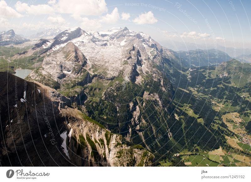 Col du Pillon Himmel Natur Sommer Erholung ruhig Ferne Berge u. Gebirge Sport Freiheit fliegen Lifestyle Felsen Zufriedenheit Freizeit & Hobby wild Luft