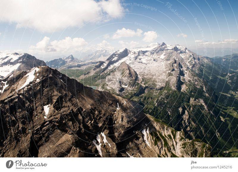 Das Spitzhorn II Himmel Natur Sommer Erholung ruhig Berge u. Gebirge Leben Sport Freiheit fliegen See Lifestyle Felsen Zufriedenheit Freizeit & Hobby Luft