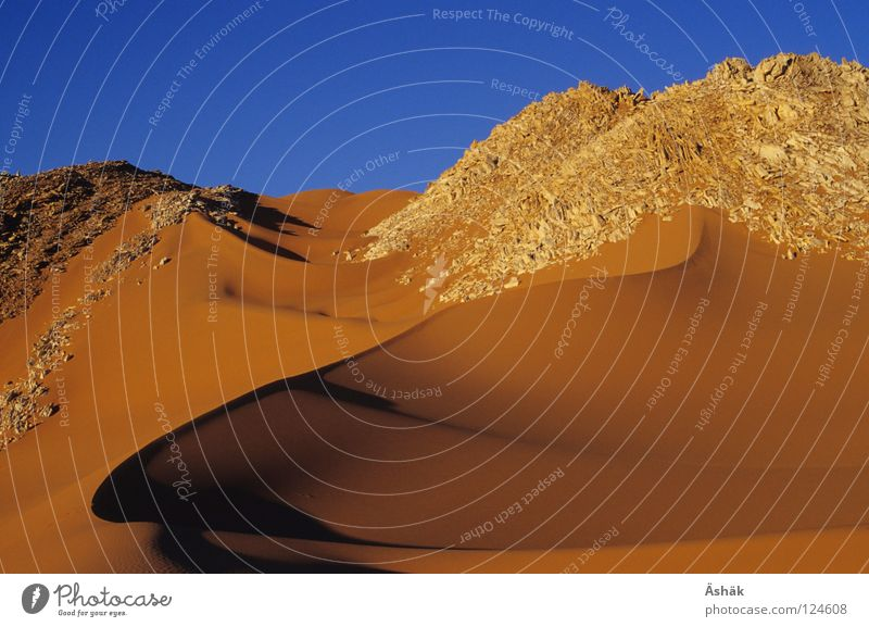 Marmorberge Wärme Sand Afrika Wüste Physik Stranddüne Dürre Sahara Niger