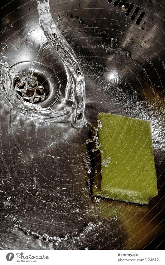 wave Wasser kalt Regen Klarheit Reinigen Fliesen u. Kacheln Flüssigkeit Teile u. Stücke Stahl spritzen Abfluss Haushalt Küchenspüle Schwamm Edelstahl Überlauf