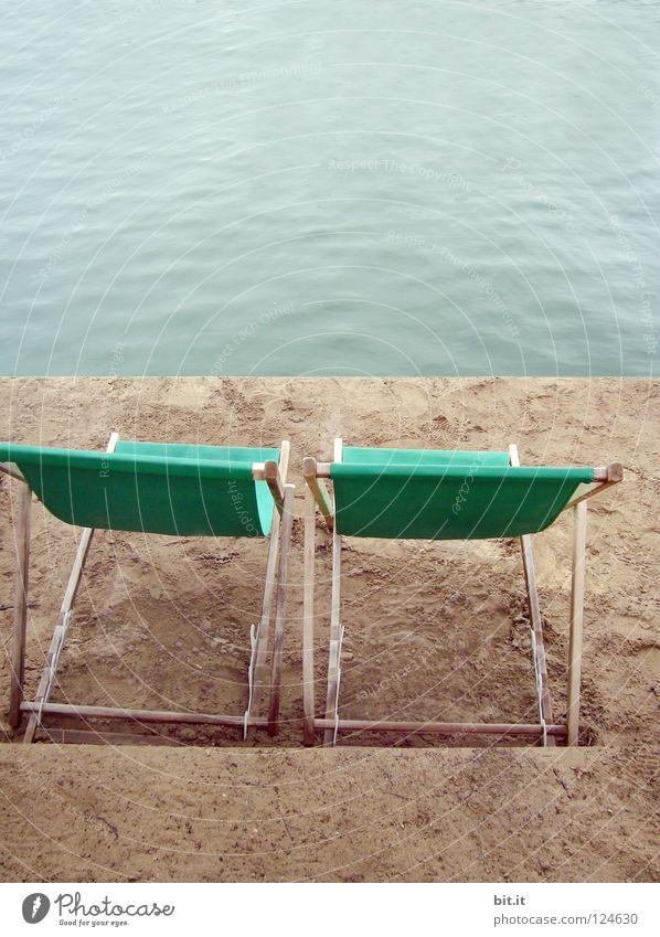 RUHEPLATZ Natur Ferien & Urlaub & Reisen blau Wasser Sommer Sonne Meer Erholung ruhig Strand Küste Freiheit Stil Sand See träumen