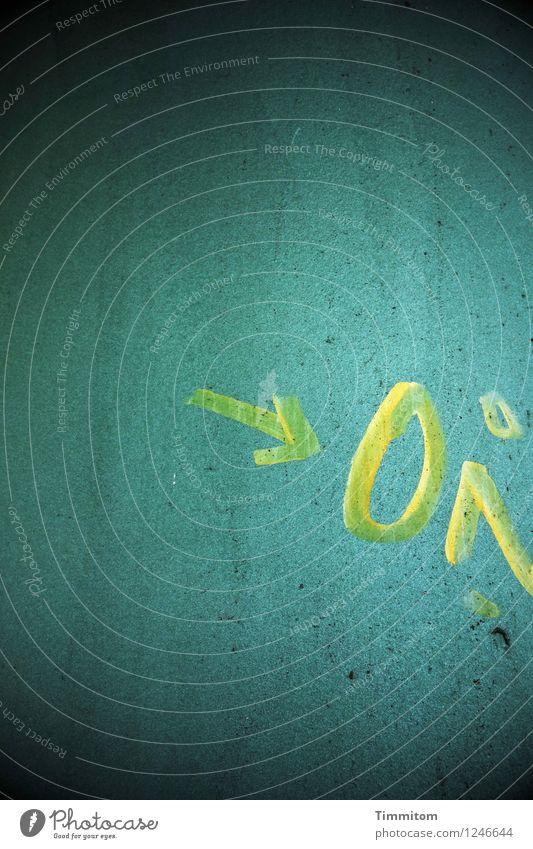 streng geheim | sicher, aber was nur? Metall Schriftzeichen Linie Blick ästhetisch blau gelb schwarz Gefühle Brückenpfeiler geheimnisvoll Schwarzweißfoto
