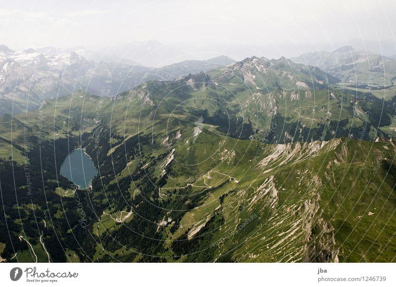 Arnensee Himmel Natur Sommer Erholung Landschaft ruhig Berge u. Gebirge Sport Freiheit Lifestyle See Zufriedenheit Luft Luftverkehr Ausflug Schönes Wetter