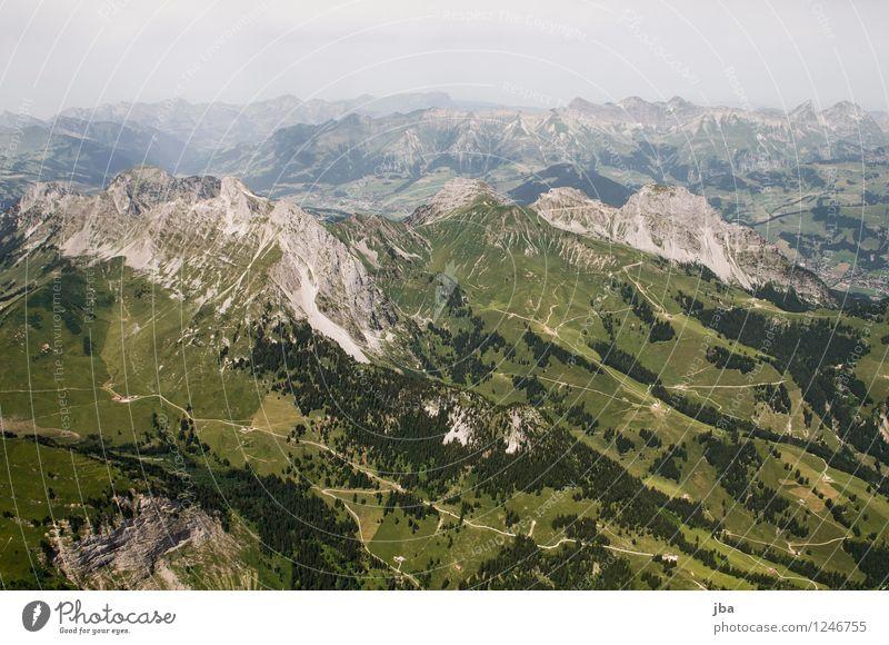Gumfluh Lifestyle Wohlgefühl Zufriedenheit Erholung ruhig Freizeit & Hobby Ausflug Ferne Sommer Berge u. Gebirge Sport Gleitschirmfliegen Sportstätten Natur