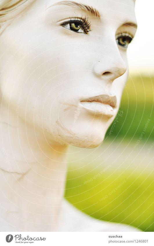 das perfekte gesicht (?) kalt Gesicht Auge Kopf Mund Nase falsch Schaufensterpuppe