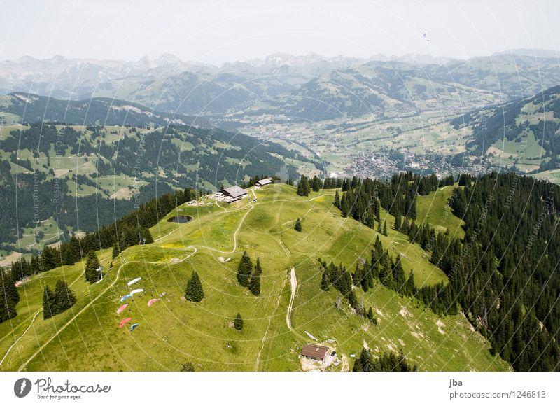 Startplatz Wispile Himmel Natur Sommer Erholung Landschaft ruhig Berge u. Gebirge Sport Freiheit fliegen Lifestyle Zufriedenheit Freizeit & Hobby Luft Beginn