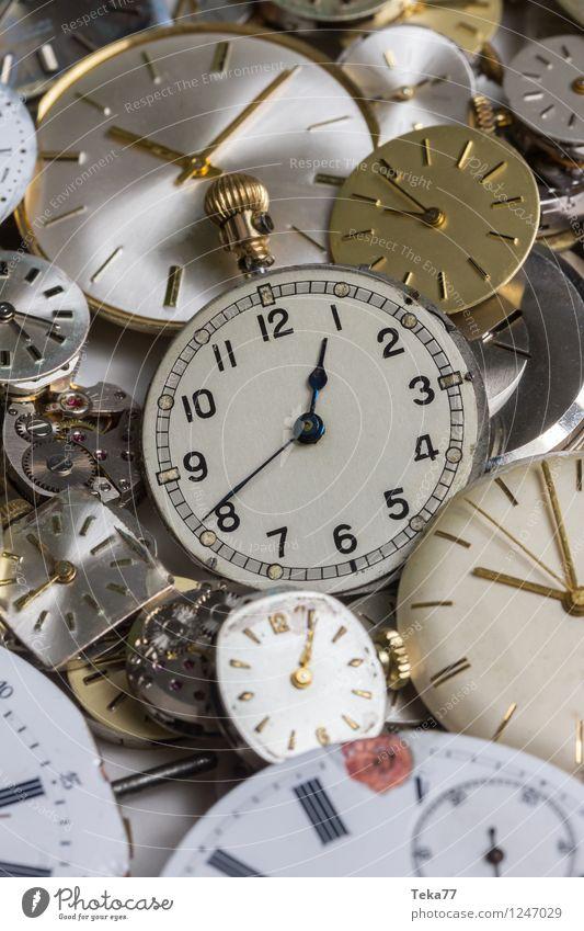 Zeitmaschinen 2 Hand springen Uhr Zukunft Zifferblatt retro Maschine Messinstrument Uhrwerk