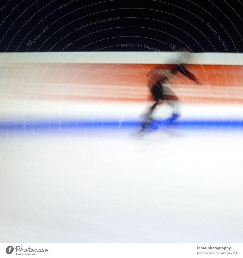 Speed [PIXELS IN MOTION] Mensch weiß schwarz Sport Bewegung Eis Kunst elegant laufen rennen Geschwindigkeit fahren Rasen Fernseher Filmindustrie Fernsehen