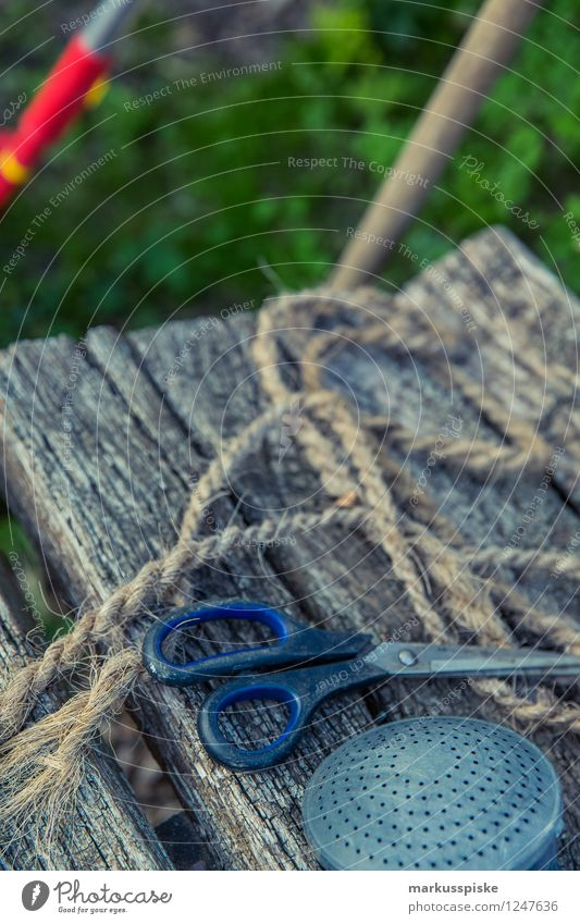 gartenarbeitsgerätschaften Lifestyle Erholung ruhig Freizeit & Hobby Gärtner Gartenarbeit Sommer Häusliches Leben Wohnung Arbeit & Erwerbstätigkeit Beruf