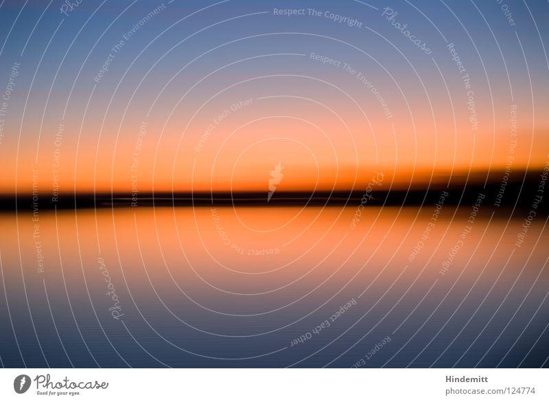 180° [exif:ExposureTime: 1/2] Wasser schön Himmel Baum Sonne blau Winter ruhig Wolken Farbe Lampe kalt See Denken Wärme Sonnenuntergang