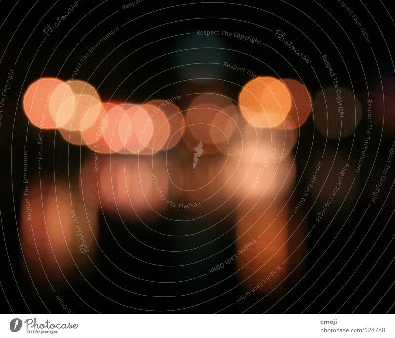 GLÜCKSPUNKTE rot schwarz dunkel Glück Lampe orange rosa Hintergrundbild Hoffnung Dekoration & Verzierung zart Konzentration Punkt erleuchten Doppelbelichtung Brennpunkt