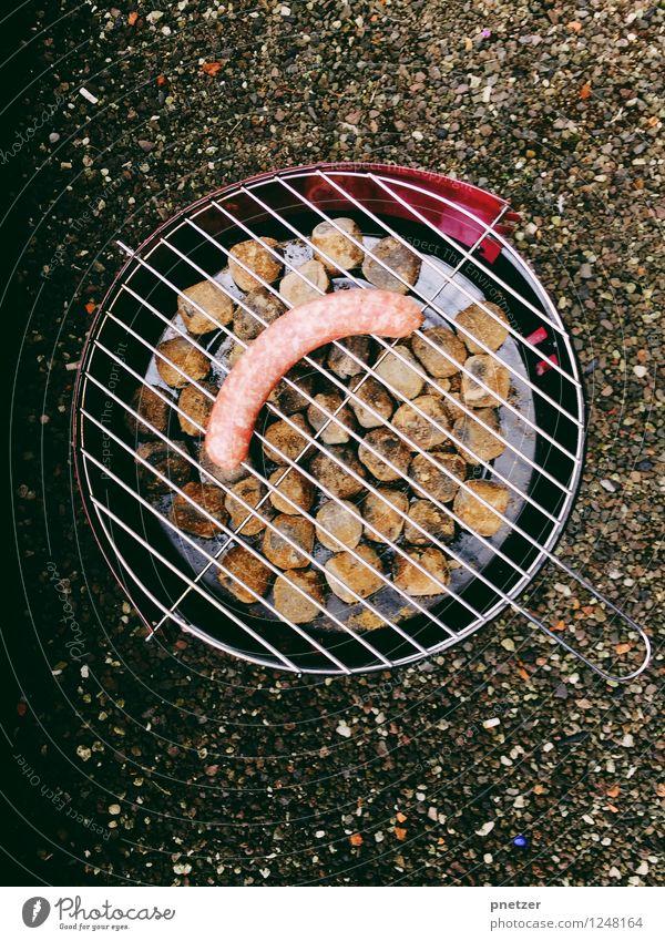 Das Würstchen Stadt Freude Gefühle Essen Lebensmittel Stimmung Hochhaus Ernährung Abenteuer Dach heiß Grillen Stadtzentrum Fleisch Mahlzeit Köln