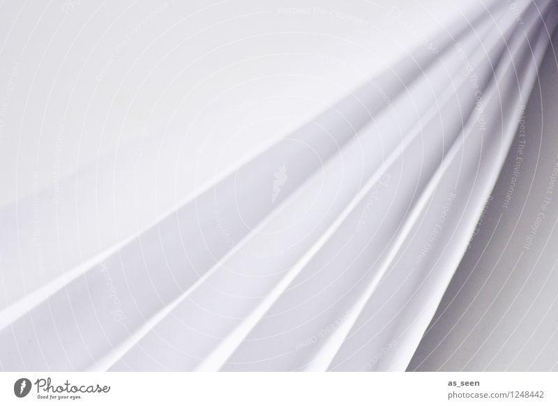 Faltung Farbe weiß grau Kunst Design Dekoration & Verzierung elegant modern ästhetisch Kreativität Spitze Ecke Papier Falte trendy eckig