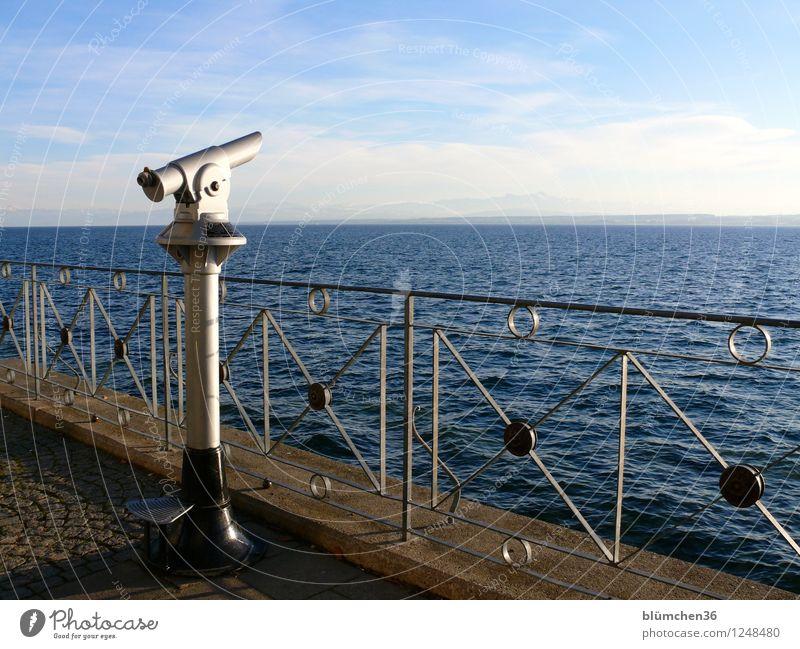 Mit Weitblick nach 2016! Teleskop Fernglas Ferne Freiheit Ferien & Urlaub & Reisen Fernweh ruhig Sehnsucht Zufriedenheit Aussicht vorhersagen Zukunft Ziel