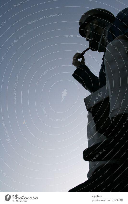 100000 Höllenhunde für ein Glas Loch Lomond Mann Himmel Meer Ferien & Urlaub & Reisen Senior Ferne Erholung Holz träumen See Denken Schuhe Kunst Bekleidung sitzen Aussicht