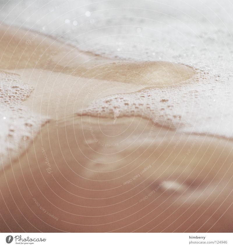 schaumbad strand Frau Wasser Strand Erotik Beine Körper Schwimmen & Baden Reinigen Sauberkeit Bad Badewanne Körperpflege Bauch Waschen Schaum Intimität