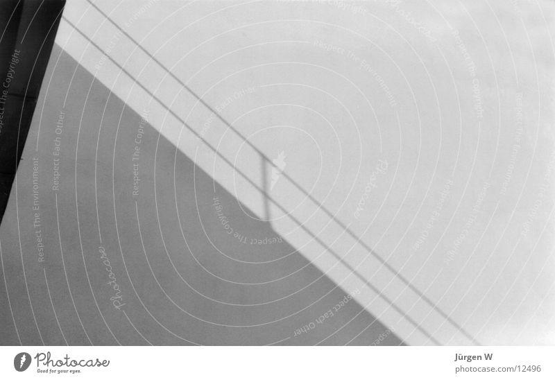 Schatten Dessau schwarz weiß Architektur Geländer Meisterhäuser shadow railing black white