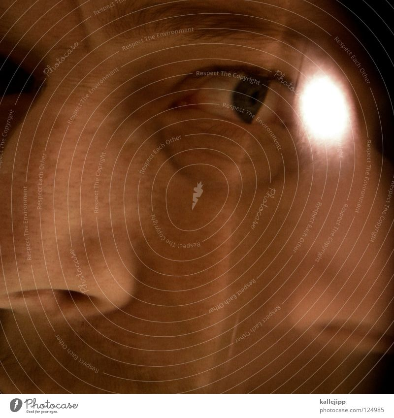 zwei supernasen Mensch Mann Wasser Gesicht Auge Haare & Frisuren Schwimmen & Baden Kopf 2 Haut Mund nass Nase Falte Lippen