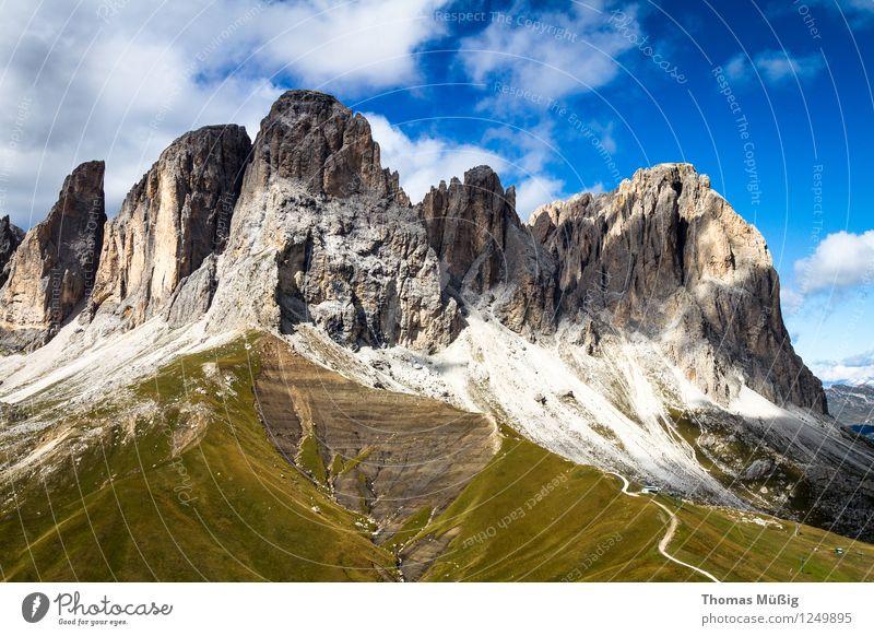 Dolomiten Sommer Berge u. Gebirge wandern Landschaft Alpen Ferien & Urlaub & Reisen schön Erholung Freizeit & Hobby Tourismus Trentino-Alto Adige Italien