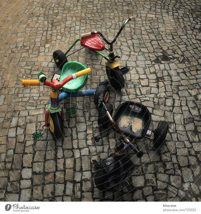 Bmx-Bande Spielen 3 retro Spielzeug Kindheit Mobilität old-school Dreirad