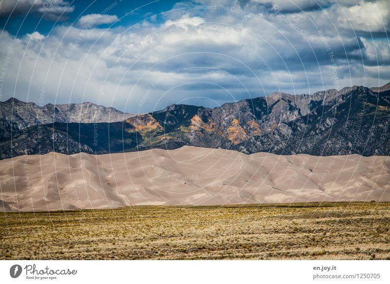 Bergwelten Himmel Natur Ferien & Urlaub & Reisen Sommer Landschaft Wolken Ferne Berge u. Gebirge Umwelt Herbst Tourismus Ausflug Klima Abenteuer USA Überraschung