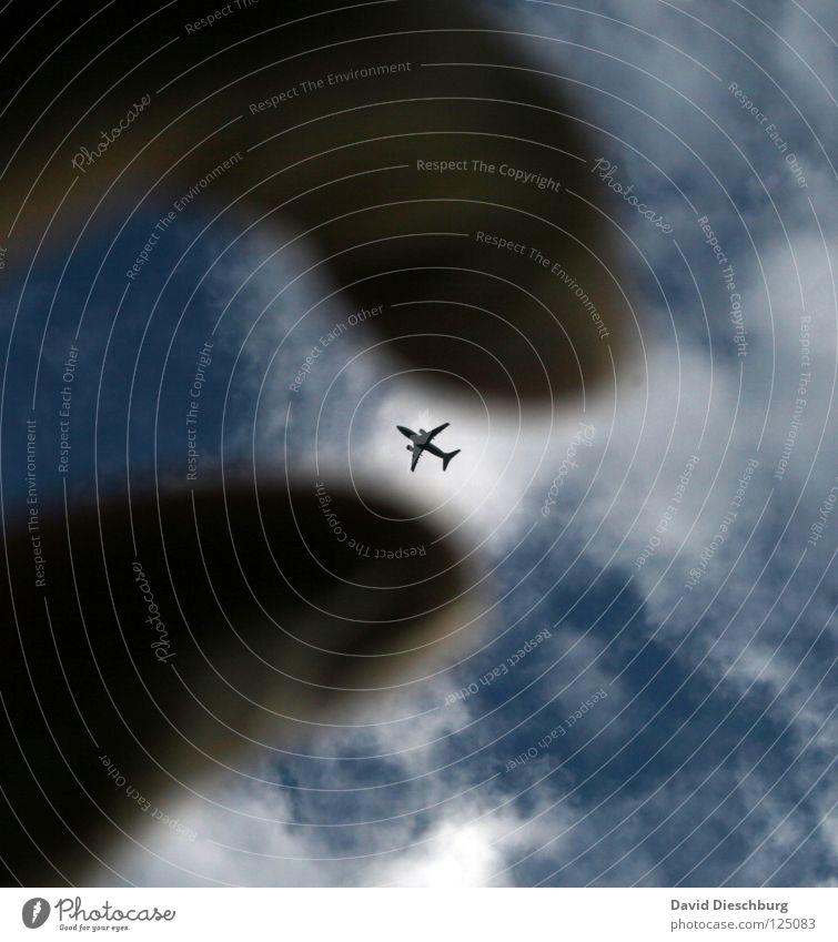 Toys for King Kong Hand Himmel blau rot Ferien & Urlaub & Reisen Wolken Graffiti orange Flugzeug groß Beginn Finger Luftverkehr Flügel Spielzeug fangen